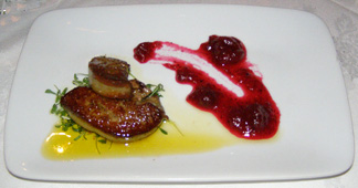 Foie Gras - Aux  Truffes Restaurant, Mont-Tremblant, Canada = Photo by Luxury Experience