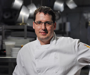Chef Martin Faucher of Aux  Truffes Restaurant, Mont-Tremblant, Canada
