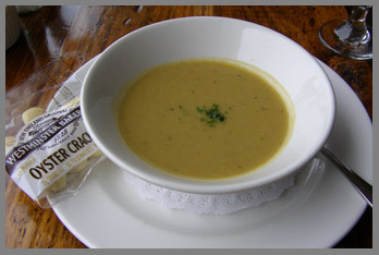 Asparagus Soup  - Black Point Inn, Maine - Photo by Luxury Experience