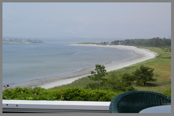 Beach on Prouts Neck - Black Point Inn, Maine - photo by Luxury Experience