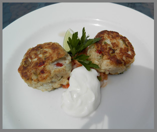 Crab Cakes - Black Point Inn, Maine - Photo by Luxury Experience