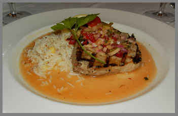 Ahi Tuna - Black Point Inn, Maine - Photo by Luxury Experience