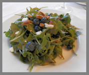 Arugula Salad - Black Point Inn, Maine - Photo by Luxury Experience