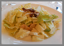 Caesar Salad - Black Point Inn, Maine - Photo by Luxury Experience