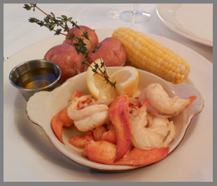 Maine Lobster Lazy Man Style - Black Point Inn, Maine - Photo by Luxury Experience