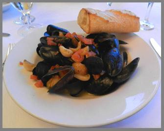Maine Mussels - Black Point Inn, Maine - Photo by Luxury Experience