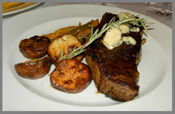 Strip Steak - Black Point Inn, Maine - Photo by Luxury Experience