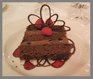 Triple Chocolate Cake - Black Point Inn, Maine - Photo by Luxury Experience