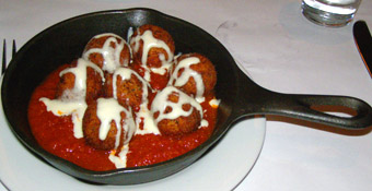 Arancini - Ballo Italian Restaurant and Social Club, Mohegan Sun - Photo by Luxury Experience