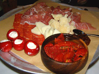 Salumi e Formoai -  Ballo Italian Restaurant and Social Club, Mohegan Sun - Photo by Luxury Experience