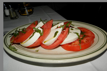 Fresh Mozzeralla, Beefsteak Tomatoes - Ben and Jack's Steak House - Photo By Luxury Experience
