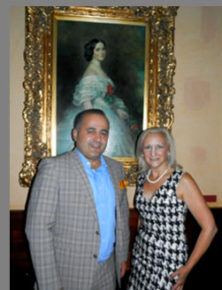 Jack Sinanaji and Debra C. Argen - photo by Luxury Experience