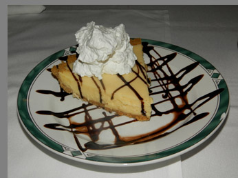 Key Lime Pie - Ben and Jack's Steak House - Photo By Luxury Experience