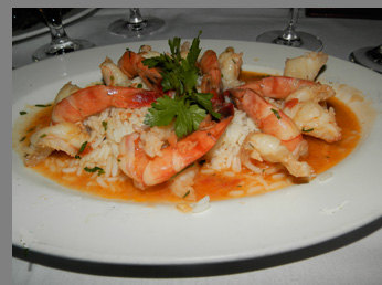 Shrimp Scampi - Ben and Jack's Steak House - Photo By Luxury Experience