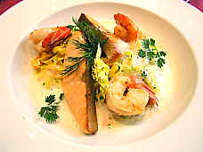 BistroRestaurant Prawns and Salmon