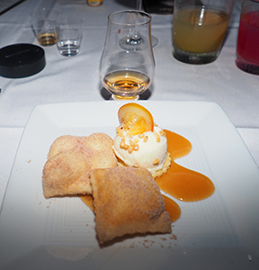 Sopapillas Con Helado - Bistro Napa - Atlantis Casino Resort Spa - photo by Luxury Experience