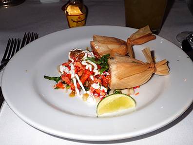 Lobster Tamale - Bistro Napa - Atlantis Casino Resort Spa - photo by Luxury Experience