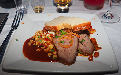 West Texas Tri-Tip - Bistro Napa - Atlantis Casino Resort Spa - photo by Luxury Experience