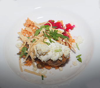 Chile Relleno Con Pollo - Bistro Napa - Atlantis Casino Resort Spa - photo by Luxury Experience