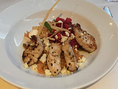 Pan-Seared Swordfish - Bistro Napa - Atlantis Casino Resort Spa - photo by Luxury Experience