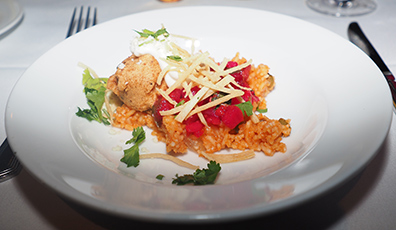 Pan-Sauteed Alaskan Halibut - Bistro Napa - Atlantis Casino Resort Spa - photo by Luxury Experience