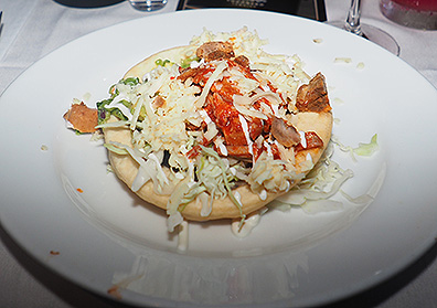 Rojo Pulled Pork - Bistro Napa - Atlantis Casino Resort Spa - photo by Luxury Experience