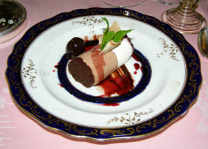 Black Forest Dessert - The Dining Room at Blantyre, Blantyre, Lenox, Massachusetts, USA - Photo by Luxury Experience