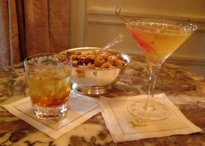 Cocktails before Dinner - The Dining Room at Blantyre, Blantyre, Lenox, Massachusetts, USA - Photo by Luxury Experience