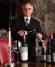 Sommelier Luc Chevalier of Blantyre, Lenox, Massachusetts, USA