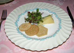 Cheese Course - The Dining Room at Blantyre, Blantyre, Lenox, Massachusetts, USA - Photo by Luxury Experience