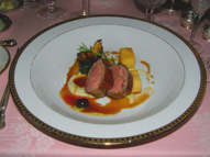 Rack of Lamb - The Dining Room at Blantyre, Blantyre, Lenox, Massachusetts, USA - Photo by Luxury Experience