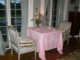 Moire Room - The Dining Room at Blantyre, Blantyre, Lenox, Massachusetts, USA - Photo by Luxury Experience
