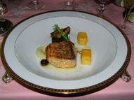 Seabass - The Dining Room at Blantyre, Blantyre, Lenox, Massachusetts, USA - Photo by Luxury Experience