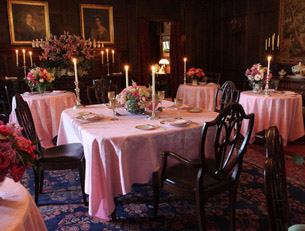 The Dining Room at Blantyre, Lenox, Massachusetts, USA