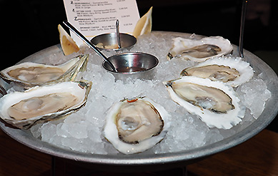 Maine Oysters - The Boathouse - Kennebunkport, ME- photo by Luxury Experience