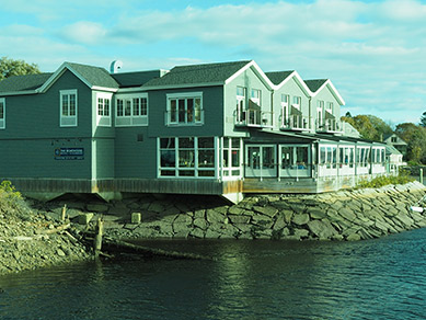 The Boathouse - Kennebunkport, ME- photo by Luxury Experience