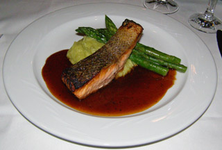 Atlantic Salmon - The Bridgetown Mill House, Langhorne, PA - Photo By Luxury Experience