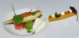 Campton Place Restaurant - Crab