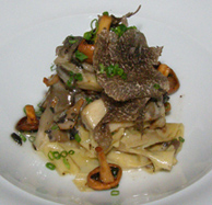 Campton Place Restaurant - Soy Skin Pappardelle Pasta