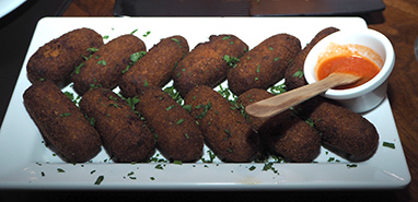Booinho de Traira (wolf-fish balls) - photo by Luxury Experience