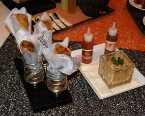 Baby Back Spring Rolls - Celebrity Cruises - Qsine - Eclipse - photo by Luxury Experience