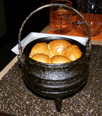 South African Pot Rolls - Celebrity Cruises - Qsine - Eclipse - photo by Luxury Experience