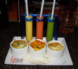 Celebrity Eclipse - Qsine Soupe and Souffle - Photo by Luxury Experience