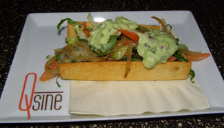 Taco Royale - Celebrity Cruises - Qsine - Eclipse - photo by Luxury Experience