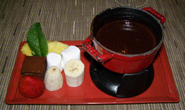 Chocolate Fondue - Tuscan Grille, Celebrity Cruises - Eclipse - photo by Luxury Experience