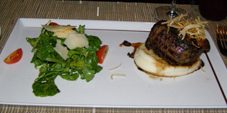 Filet Mignon - Tuscan Grille, Celebrity Cruises - Eclipse - photo by Luxury Experience