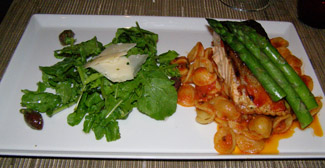 Salmon, Tuscan Grille, Celebrity Eclipse - Celebrity Cruises - Photo by Luxury Exerpeice