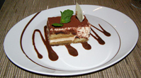 Tiramisu - Tuscan Grille, Celebrity Cruises - Eclipse - photo by Luxury Experience