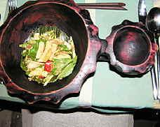 Champor-Champor green mango snake bean salad