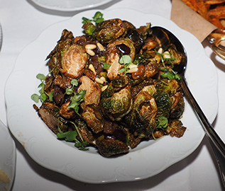 Brussels Spouts - The Chandler Steakhouse - MGM Springfield - photo by Luxury Experience